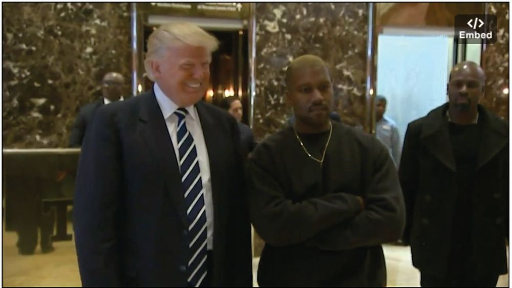 Kanye West Appointed Under Secretary Of The Interior After Meeting At Trump Tower Santa Monica